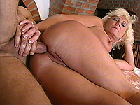Busty milf loves deep analy sex.